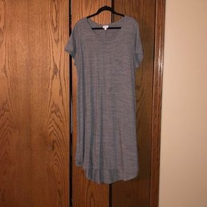 Grey lularoe Carly dress